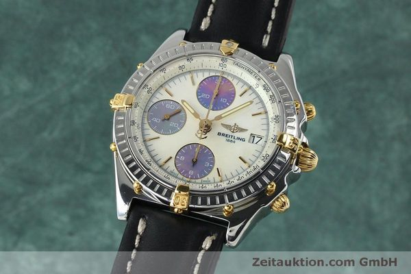 Used luxury watch Breitling Chronomat chronograph steel / gold automatic Kal. B13 ETA 7750 Ref. B13050  | 152040 04