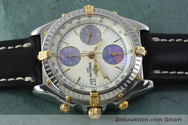 Used luxury watch Breitling Chronomat chronograph steel / gold automatic Kal. B13 ETA 7750 Ref. B13050  | 152040 05