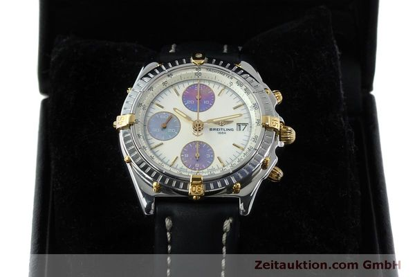 Used luxury watch Breitling Chronomat chronograph steel / gold automatic Kal. B13 ETA 7750 Ref. B13050  | 152040 07