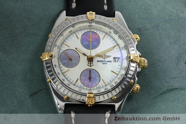 Used luxury watch Breitling Chronomat chronograph steel / gold automatic Kal. B13 ETA 7750 Ref. B13050  | 152040 15