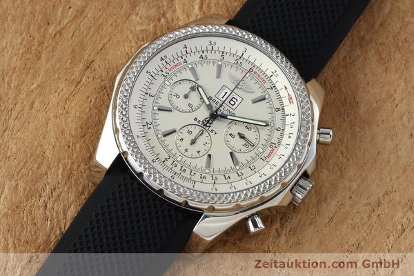 Used luxury watch Breitling Bentley chronograph steel automatic Kal. B44 ETA 2892A2 Ref. A44362  | 152042 01