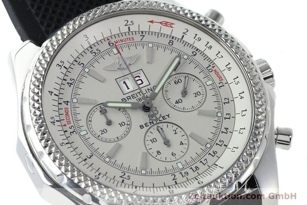 Used luxury watch Breitling Bentley chronograph steel automatic Kal. B44 ETA 2892A2 Ref. A44362  | 152042 02