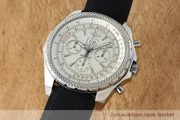 Used luxury watch Breitling Bentley chronograph steel automatic Kal. B44 ETA 2892A2 Ref. A44362  | 152042 04
