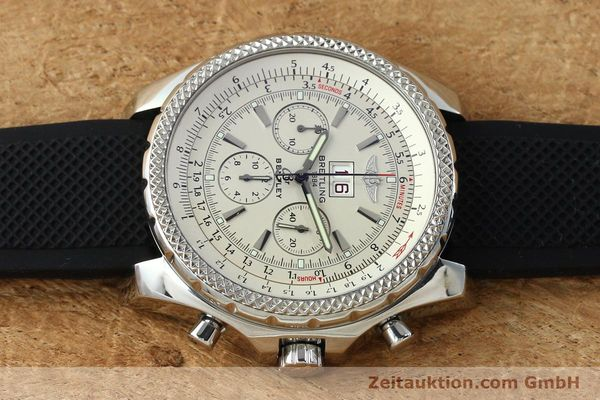 Used luxury watch Breitling Bentley chronograph steel automatic Kal. B44 ETA 2892A2 Ref. A44362  | 152042 05