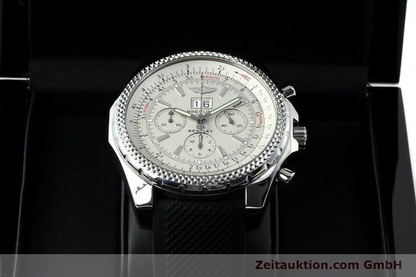 Used luxury watch Breitling Bentley chronograph steel automatic Kal. B44 ETA 2892A2 Ref. A44362  | 152042 07