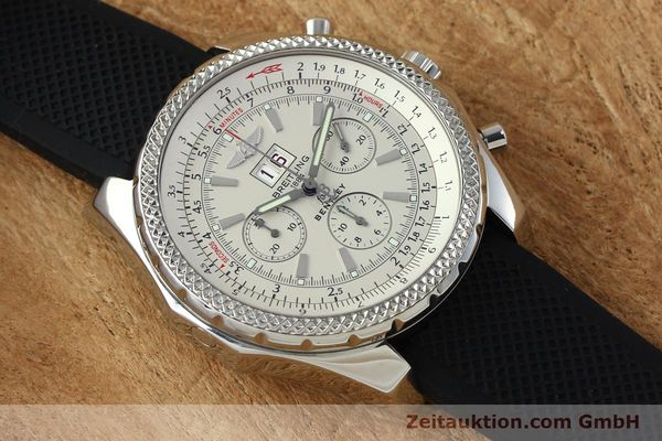 Used luxury watch Breitling Bentley chronograph steel automatic Kal. B44 ETA 2892A2 Ref. A44362  | 152042 12