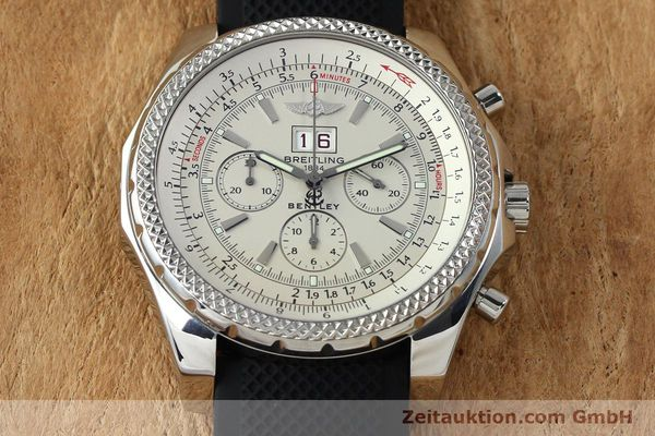 Used luxury watch Breitling Bentley chronograph steel automatic Kal. B44 ETA 2892A2 Ref. A44362  | 152042 13