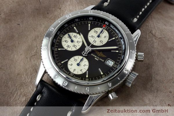 Used luxury watch Breitling Navitimer chronograph steel automatic Kal. B13 ETA 7750 Ref. A13023.1  | 152043 01