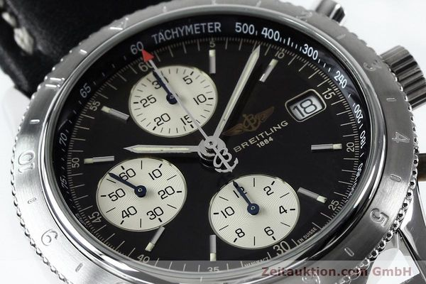 Used luxury watch Breitling Navitimer chronograph steel automatic Kal. B13 ETA 7750 Ref. A13023.1  | 152043 02