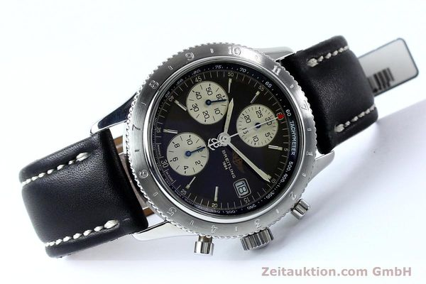 Used luxury watch Breitling Navitimer chronograph steel automatic Kal. B13 ETA 7750 Ref. A13023.1  | 152043 03