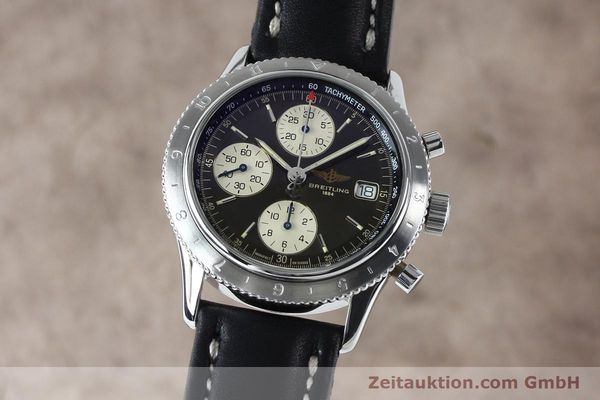 Used luxury watch Breitling Navitimer chronograph steel automatic Kal. B13 ETA 7750 Ref. A13023.1  | 152043 04