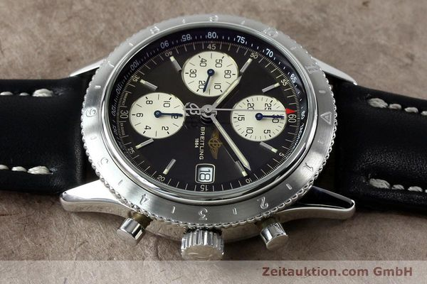 Used luxury watch Breitling Navitimer chronograph steel automatic Kal. B13 ETA 7750 Ref. A13023.1  | 152043 05