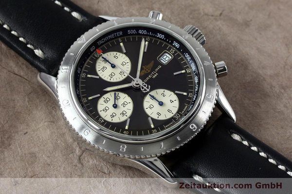Used luxury watch Breitling Navitimer chronograph steel automatic Kal. B13 ETA 7750 Ref. A13023.1  | 152043 13