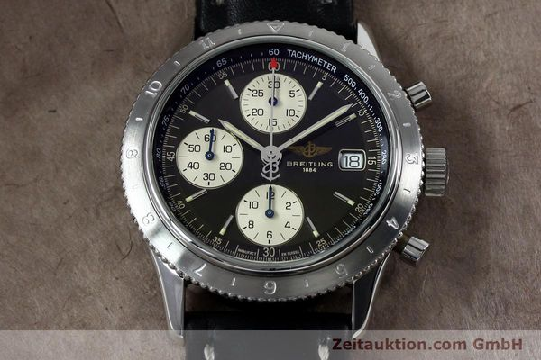 Used luxury watch Breitling Navitimer chronograph steel automatic Kal. B13 ETA 7750 Ref. A13023.1  | 152043 14