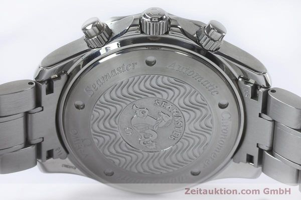 Used luxury watch Omega Seamaster chronograph steel automatic Kal. 3602 Ref. 25695000  | 152045 11