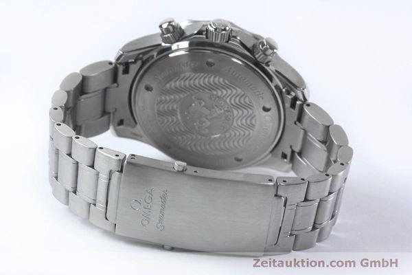 Used luxury watch Omega Seamaster chronograph steel automatic Kal. 3602 Ref. 25695000  | 152045 12