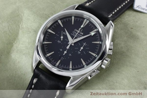 Used luxury watch Omega Seamaster chronograph steel automatic Kal. 3301A  | 152047 01