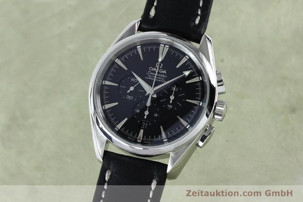 Used luxury watch Omega Seamaster chronograph steel automatic Kal. 3301A  | 152047 04