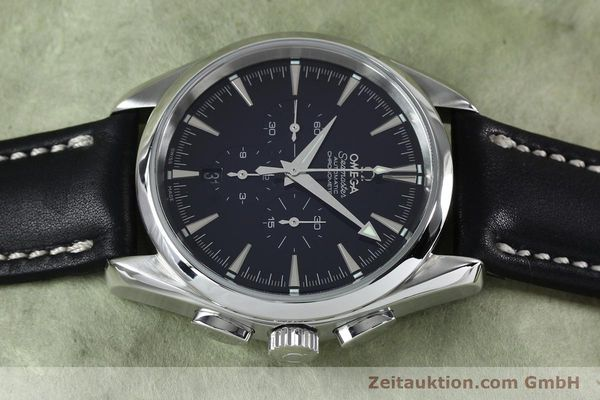 Used luxury watch Omega Seamaster chronograph steel automatic Kal. 3301A  | 152047 05