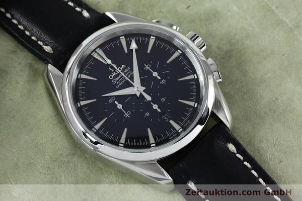 Used luxury watch Omega Seamaster chronograph steel automatic Kal. 3301A  | 152047 14