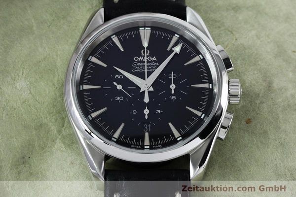 Used luxury watch Omega Seamaster chronograph steel automatic Kal. 3301A  | 152047 15