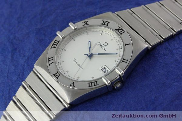 montre de luxe d occasion Omega Constellation acier quartz Kal. 1438 Eta 255461  | 152048 01