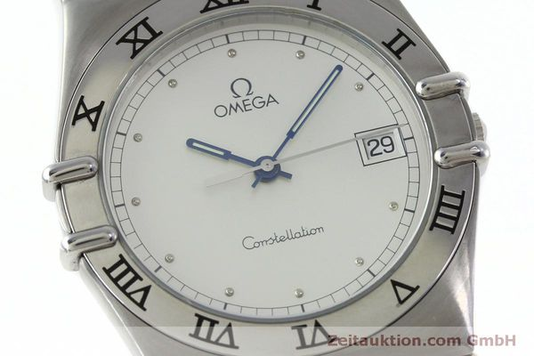 montre de luxe d occasion Omega Constellation acier quartz Kal. 1438 Eta 255461  | 152048 02