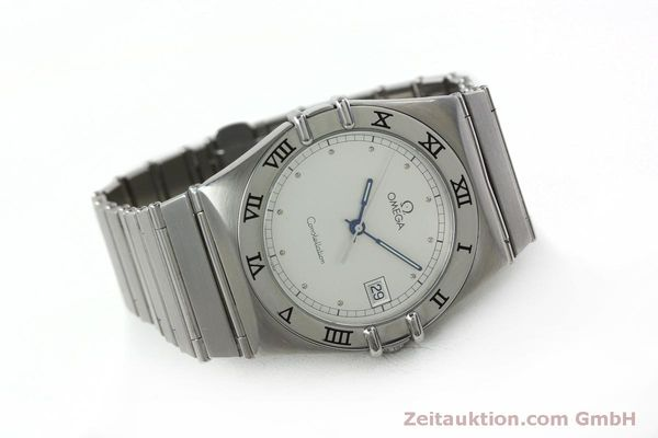 montre de luxe d occasion Omega Constellation acier quartz Kal. 1438 Eta 255461  | 152048 03