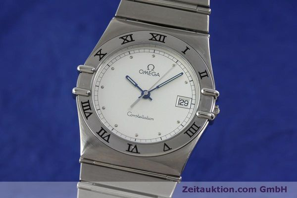 montre de luxe d occasion Omega Constellation acier quartz Kal. 1438 Eta 255461  | 152048 04