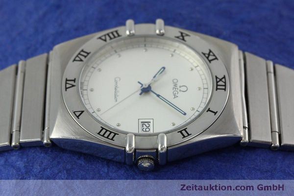 montre de luxe d occasion Omega Constellation acier quartz Kal. 1438 Eta 255461  | 152048 05