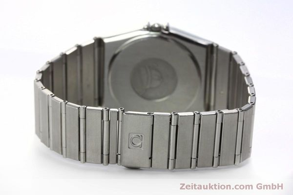 montre de luxe d occasion Omega Constellation acier quartz Kal. 1438 Eta 255461  | 152048 11