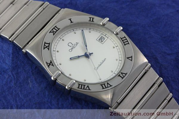 montre de luxe d occasion Omega Constellation acier quartz Kal. 1438 Eta 255461  | 152048 13