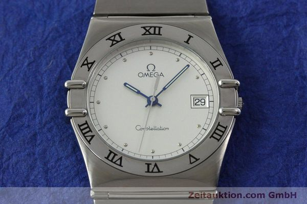 montre de luxe d occasion Omega Constellation acier quartz Kal. 1438 Eta 255461  | 152048 14