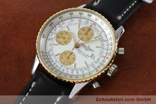 Used luxury watch Breitling Navitimer chronograph steel / gold automatic Kal. B13 ETA 7750 Ref. B13019  | 152052 01
