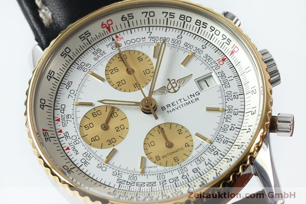 Used luxury watch Breitling Navitimer chronograph steel / gold automatic Kal. B13 ETA 7750 Ref. B13019  | 152052 02