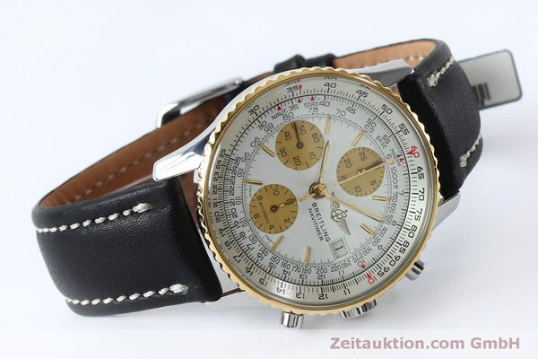 Used luxury watch Breitling Navitimer chronograph steel / gold automatic Kal. B13 ETA 7750 Ref. B13019  | 152052 03