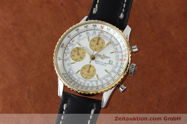 Used luxury watch Breitling Navitimer chronograph steel / gold automatic Kal. B13 ETA 7750 Ref. B13019  | 152052 04