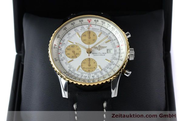 Used luxury watch Breitling Navitimer chronograph steel / gold automatic Kal. B13 ETA 7750 Ref. B13019  | 152052 07