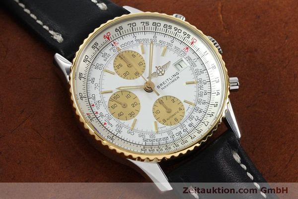 Used luxury watch Breitling Navitimer chronograph steel / gold automatic Kal. B13 ETA 7750 Ref. B13019  | 152052 13