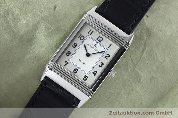Used luxury watch Jaeger Le Coultre Reverso steel manual winding Kal. 646/1 Ref. 250.8.86  | 152062 01