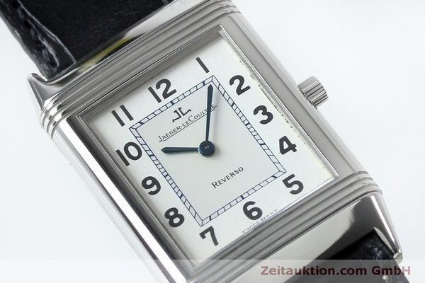 Used luxury watch Jaeger Le Coultre Reverso steel manual winding Kal. 646/1 Ref. 250.8.86  | 152062 02