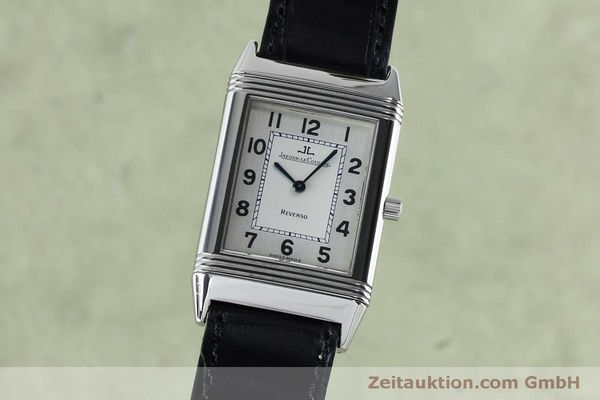 Used luxury watch Jaeger Le Coultre Reverso steel manual winding Kal. 646/1 Ref. 250.8.86  | 152062 04