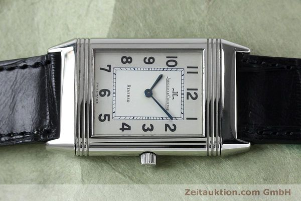 Used luxury watch Jaeger Le Coultre Reverso steel manual winding Kal. 646/1 Ref. 250.8.86  | 152062 05