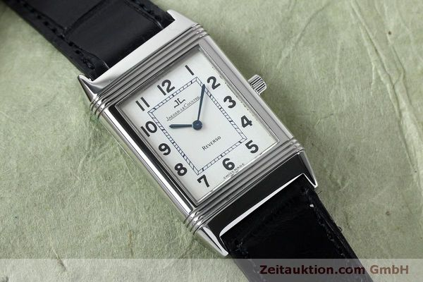 Used luxury watch Jaeger Le Coultre Reverso steel manual winding Kal. 646/1 Ref. 250.8.86  | 152062 15