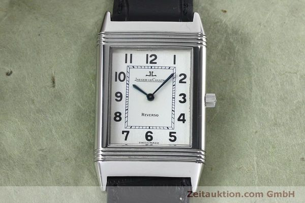 Used luxury watch Jaeger Le Coultre Reverso steel manual winding Kal. 646/1 Ref. 250.8.86  | 152062 16