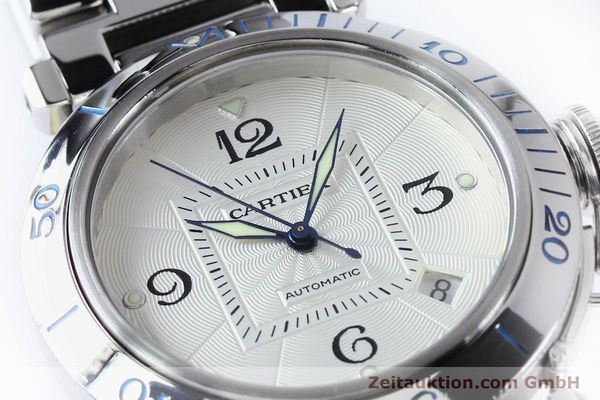 Used luxury watch Cartier Pasha steel automatic Kal. 191  | 152064 02