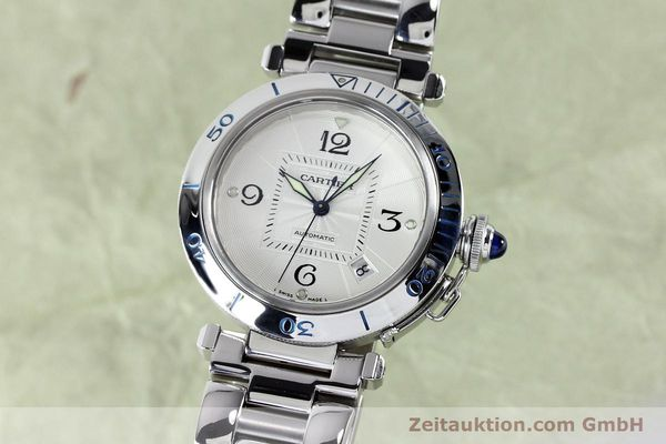 Used luxury watch Cartier Pasha steel automatic Kal. 191  | 152064 04