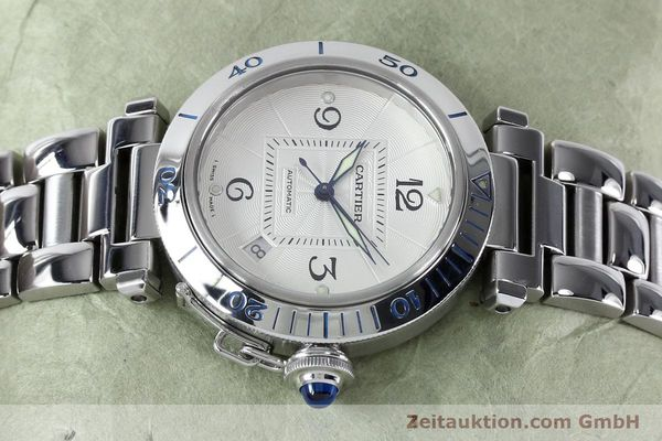 Used luxury watch Cartier Pasha steel automatic Kal. 191  | 152064 05
