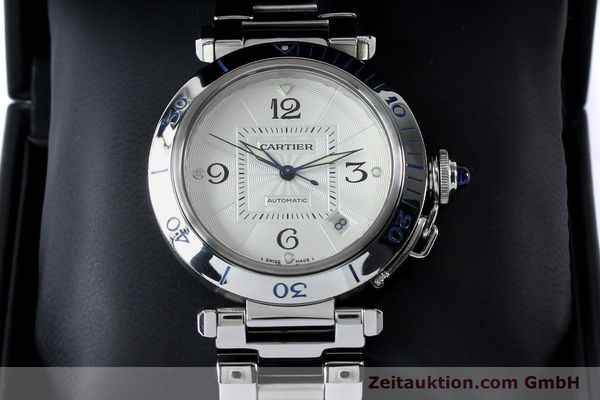 Used luxury watch Cartier Pasha steel automatic Kal. 191  | 152064 07