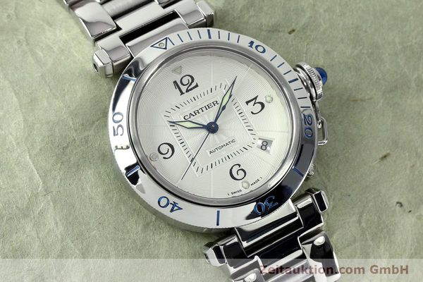 Used luxury watch Cartier Pasha steel automatic Kal. 191  | 152064 14
